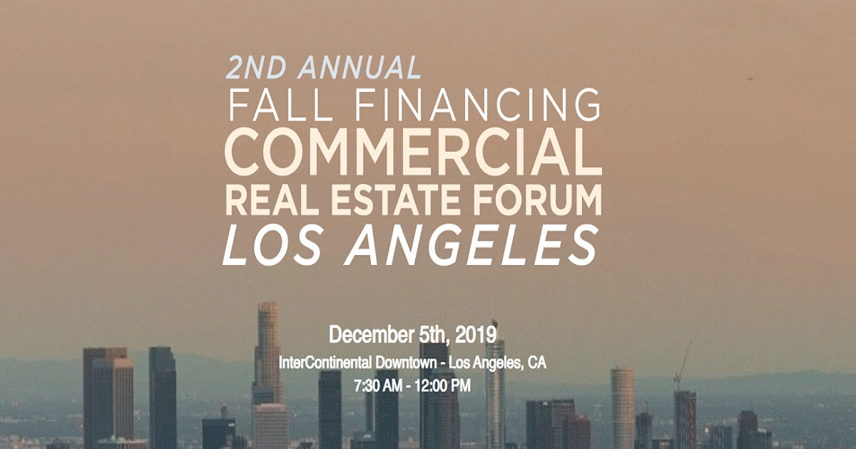 The 2nd Annual Financing Commercial Real Estate Forum