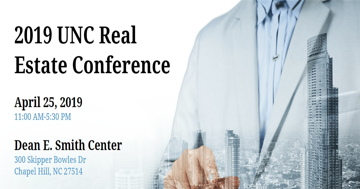 2019 UNC Real Estate Conference