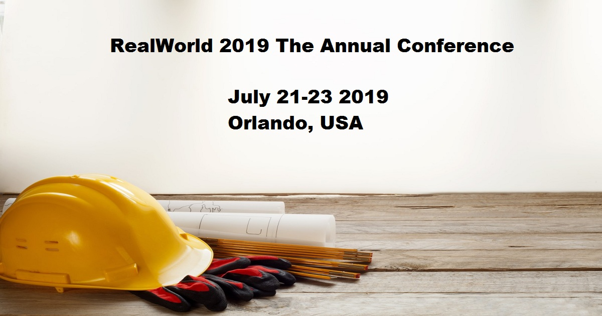 RealWorld 2019 The Annual Conference