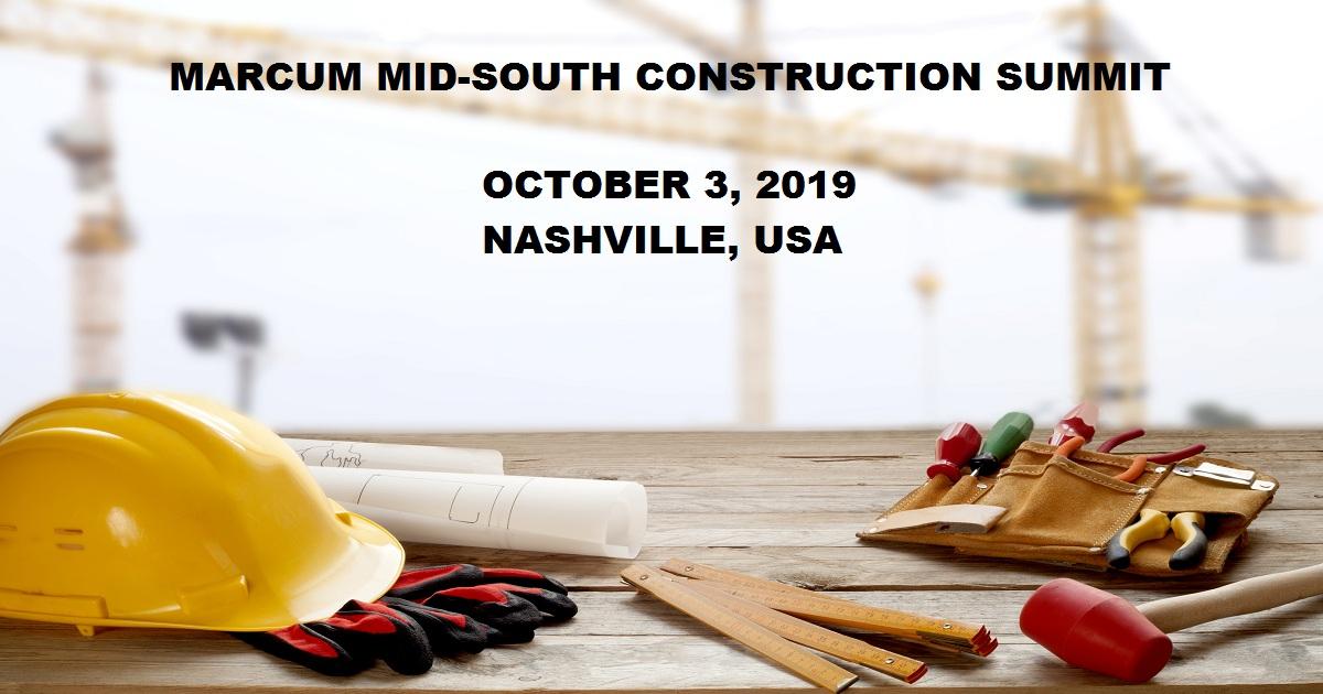 MARCUM MID-SOUTH CONSTRUCTION SUMMIT