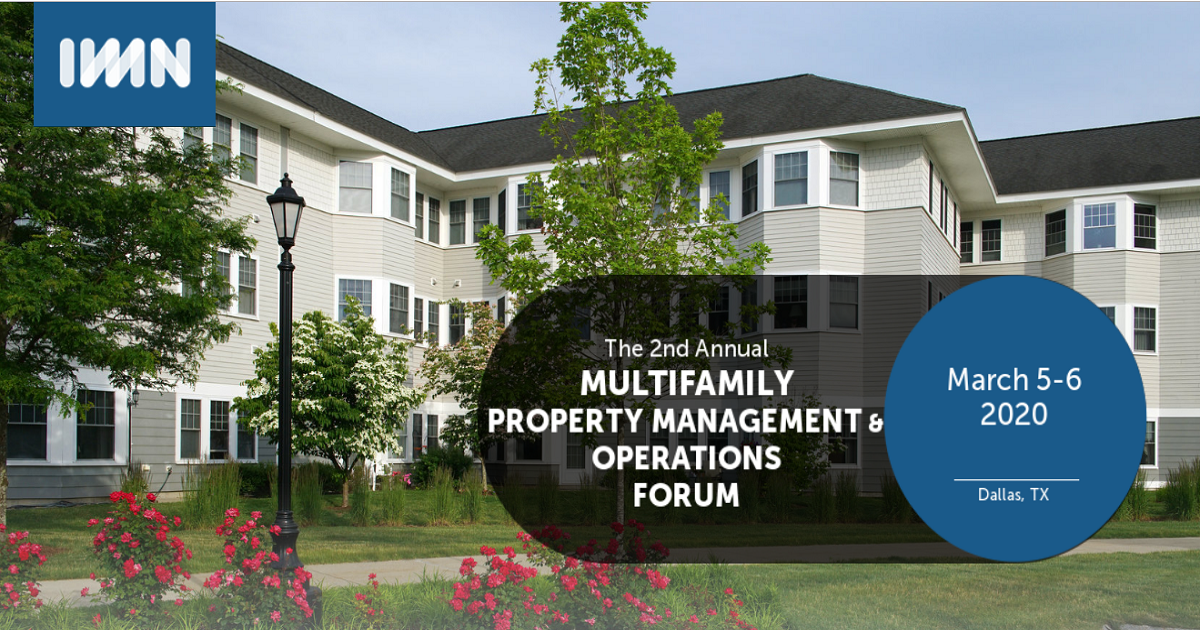 2nd Annual Multifamily Property Management & Operations Forum