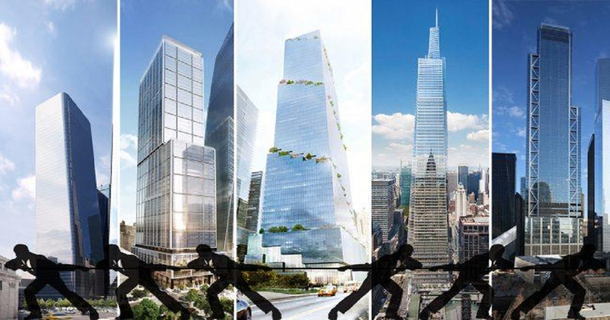 New batch of Manhattan office towers competing for elite tenants